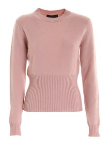 Les Copains - Crewneck sweater in pink