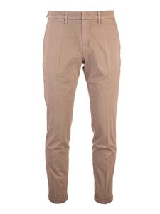 Fay - Logo pants in beige