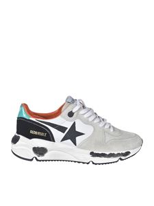 Golden Goose - Running sneakers in white and ecrù