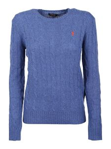 POLO Ralph Lauren - Cashmere wool blend sweater in light blue