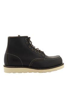 Red Wing shoes - 6-inch Classic Moc booties in black