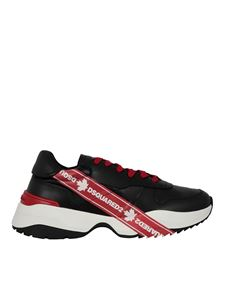 Dsquared2 - Sneakers in pelle nere