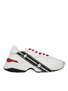 Dsquared2 - Sneakers in pelle bianche
