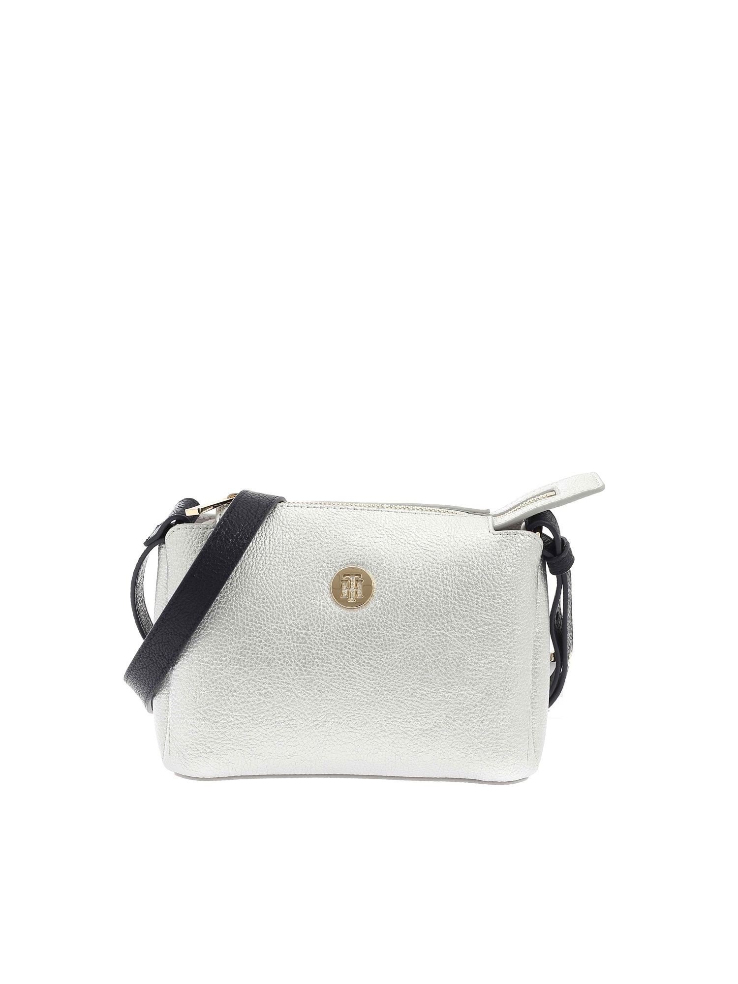 Tommy Hilfiger TH CORE BAG IN SILVER COLOR
