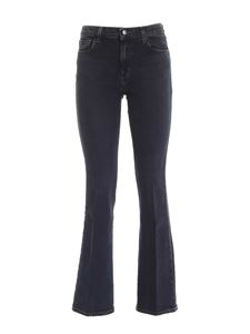 J Brand - Sallie Mid-Rise Boot jeans in blue