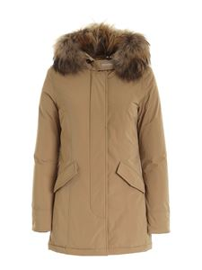 Woolrich - Luxury Artic parka in beige