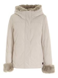 Woolrich - Luxury Boulder parka in white