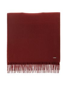 Loro Piana - Sciarpa in soffice cashmere rossa