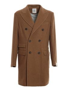 Eleventy - Cashmere coat in camel color