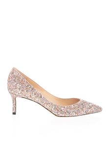 Jimmy Choo - Romy 60 décolleté in glitter multicolor