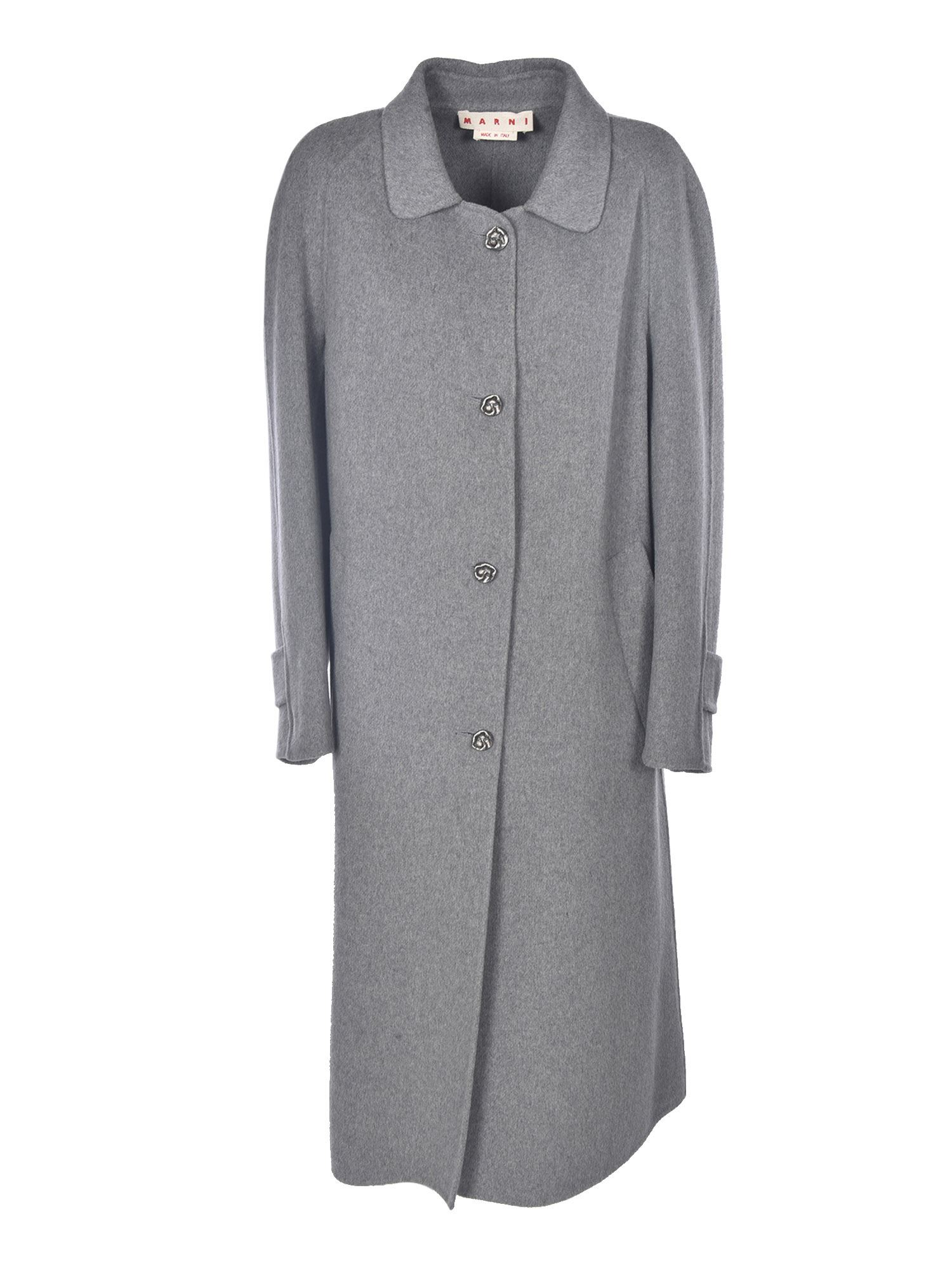 Marni LONG COAT IN GREY