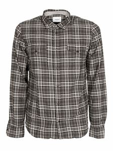 Dondup - Western basic shirt in gray