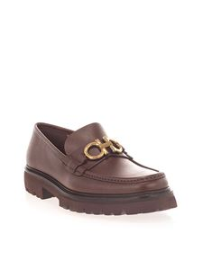 Salvatore Ferragamo - Gancini loafers in brown