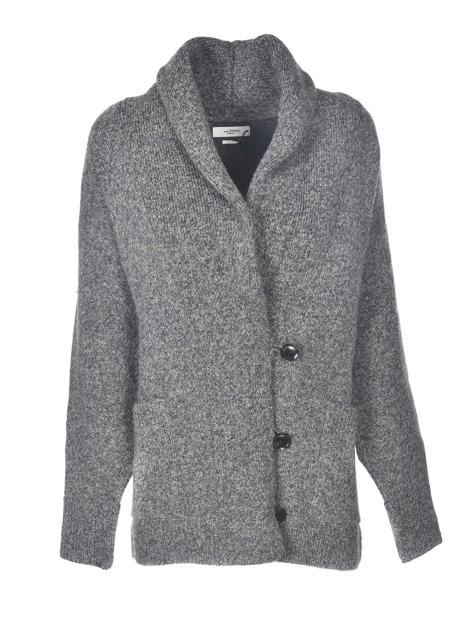 Isabel Marant Étoile MALHONR CARDIGAN IN GREY