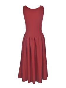 Stella McCartney - Compact dress in red