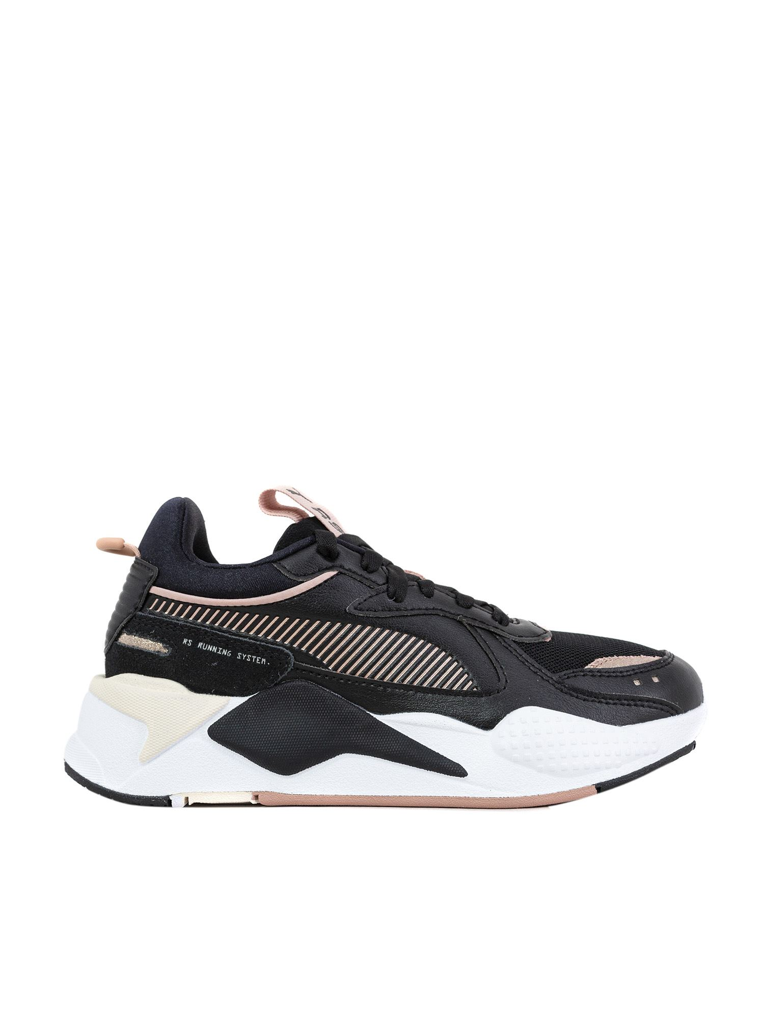 Puma RS-X MONO METAL SNEAKERS IN BLACK
