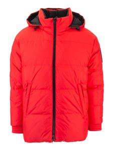 Moose Knuckles - Claver reversible down jacket in red and black