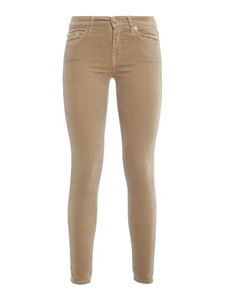 7 For All Mankind - Stretch The Skinny trousers in beige