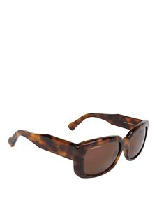 Balenciaga - Paris Square sunglasses in brown