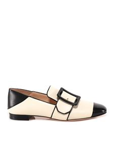 Bally - Slippers Janelle bicolor bianco