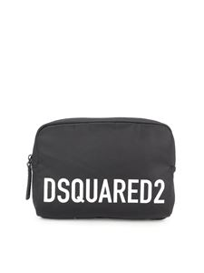 Dsquared2 - Branded tech fabric bum bag in black