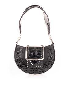 Dsquared2 - Miss West big buckle bag in black