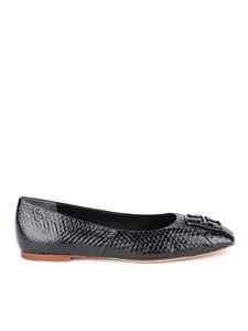 Tory Burch - Georgia flats in black