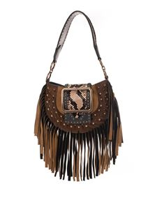 Dsquared2 - Miss West snake bag in brown