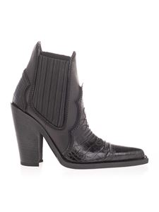 Dsquared2 - Western ankle boots in black
