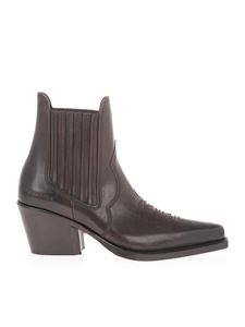 Dsquared2 - Western ankle boots in brown
