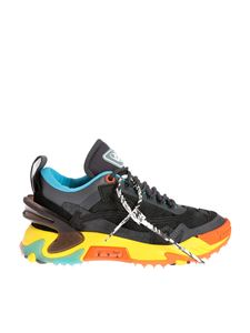 Off-White - Odsy-2000 sneakers in black and yellow