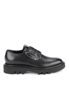 Givenchy - Combat derby shoes in black