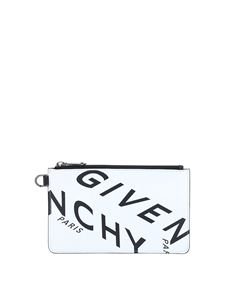 Givenchy - Givenchy Refracted pouch in white
