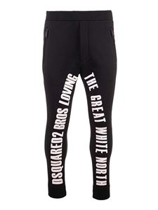 Dsquared2 - Ski The Great North Pants in black
