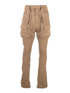 Dsquared2 - Sharpei Army Pocket pants in beige