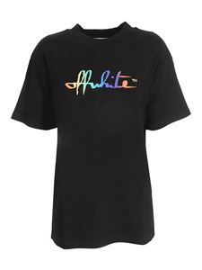 Off-White - Rainbow Tomboy T-shirt in black