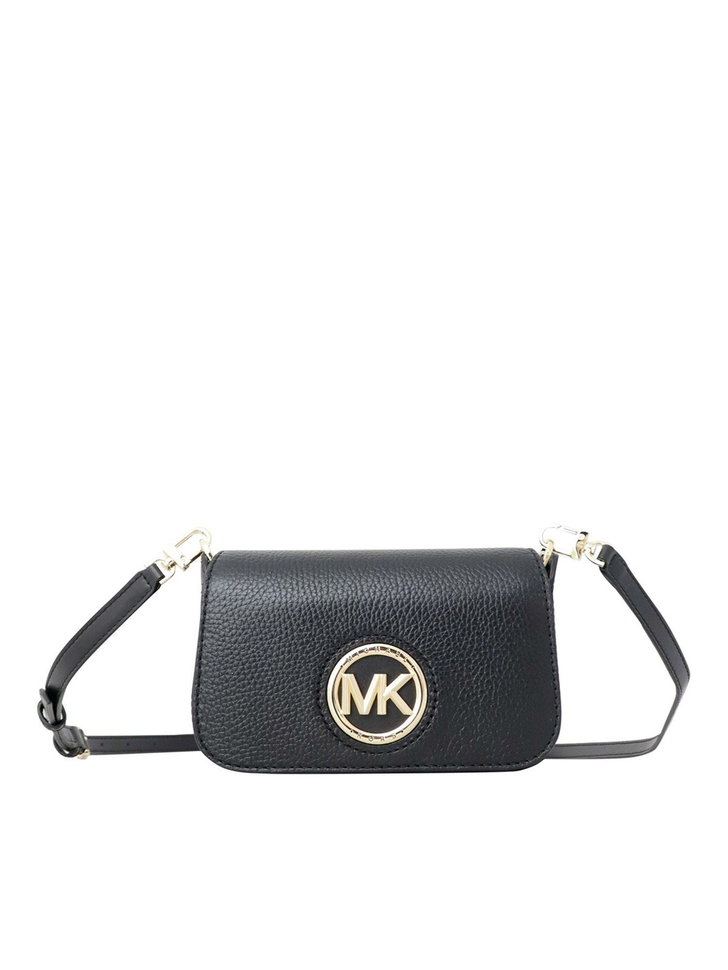 Michael Kors SAMIRA CROSS BODY BAG IN BLACK