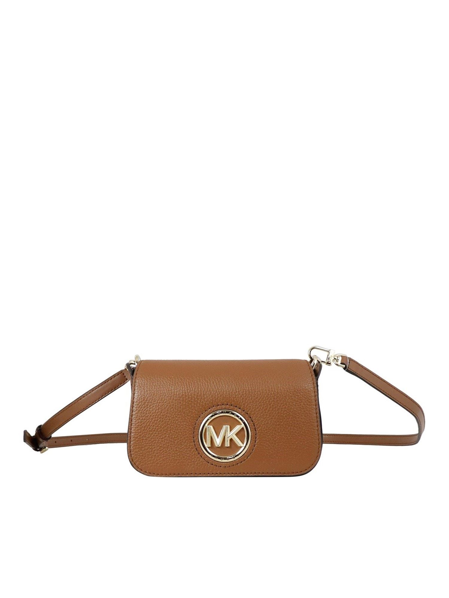 Michael Kors SAMIRA CROSS BODY BAG IN BRONW