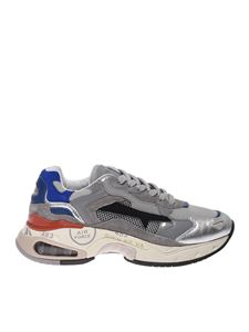 Premiata - Sharkyd sneakers in grey and silver