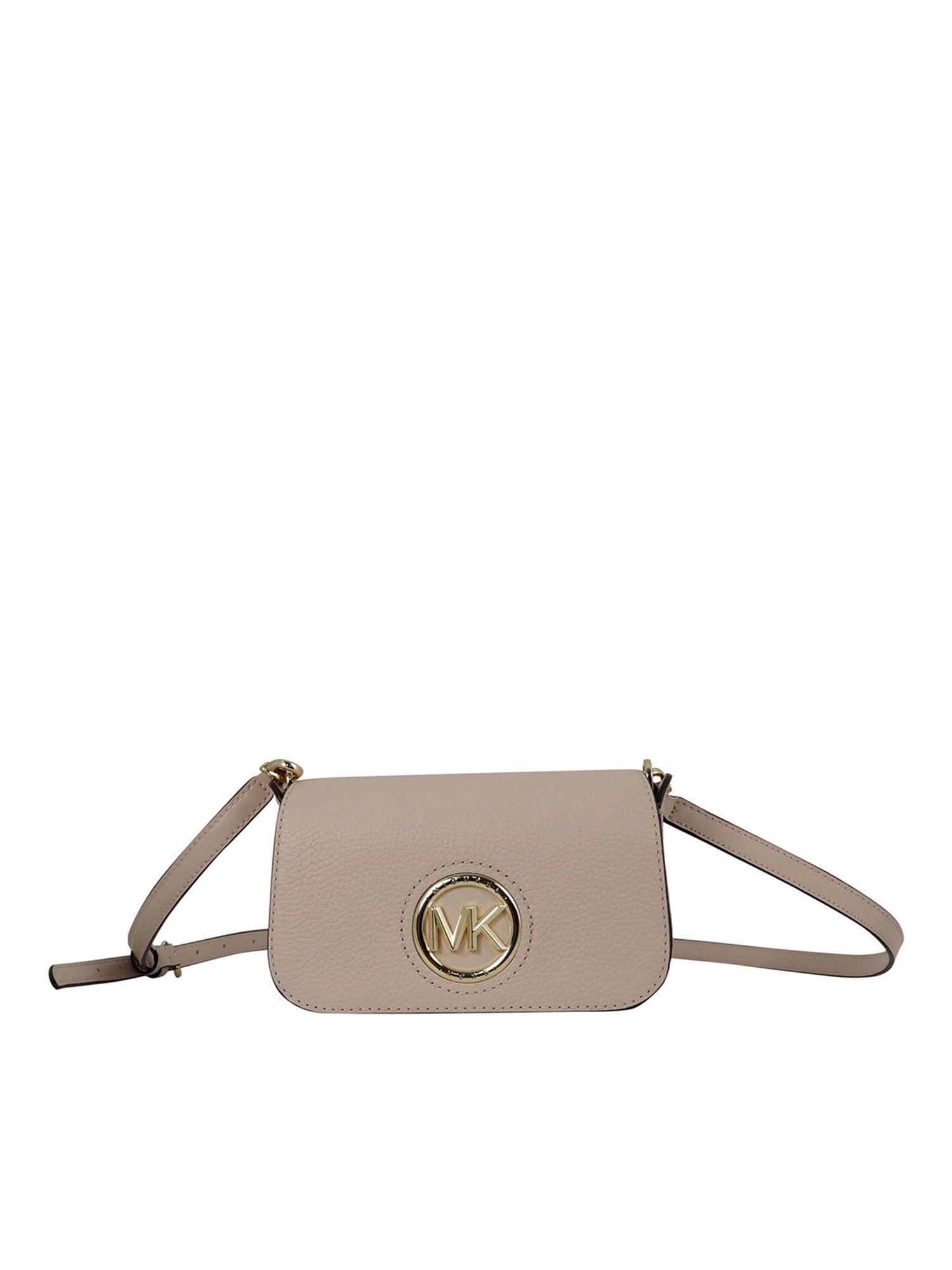 Michael Kors SAMIRA CROSS BODY BAG IN PINK