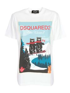Dsquared2 - Bears T-shirt in white