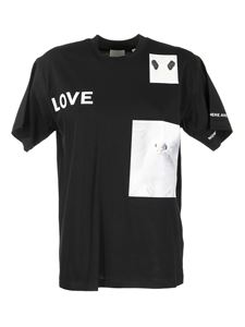 Burberry - Shakespeare's quotes printed T-shirt in black