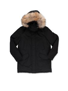 Woolrich - Black padded parka