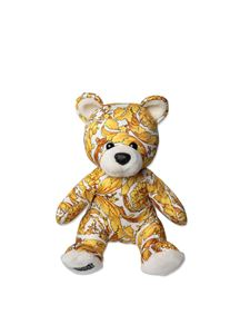Versace Young - Baroque print Teddy Bear in white