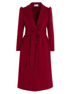 Red Valentino - Dressing gown coat in red