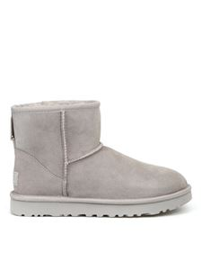 UGG - Classic Mini II seal ankle boots in grey