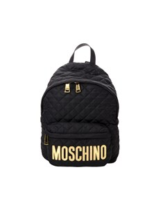 Moschino - Black quilted backpack