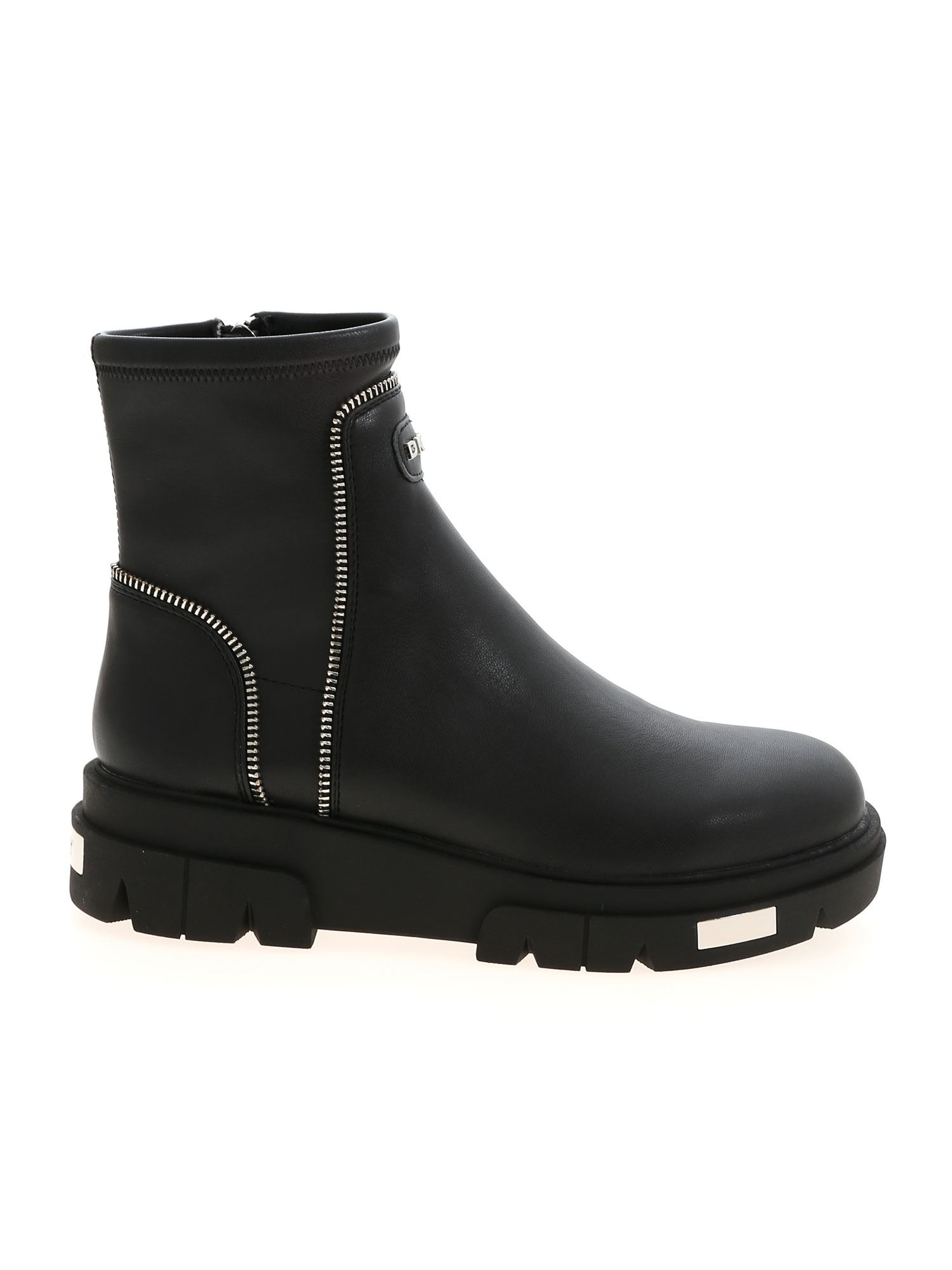 Dkny LIZZI ANKLE BOOTS IN BLACK