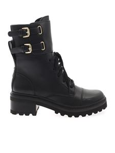 DKNY - Combat ankle boots in black