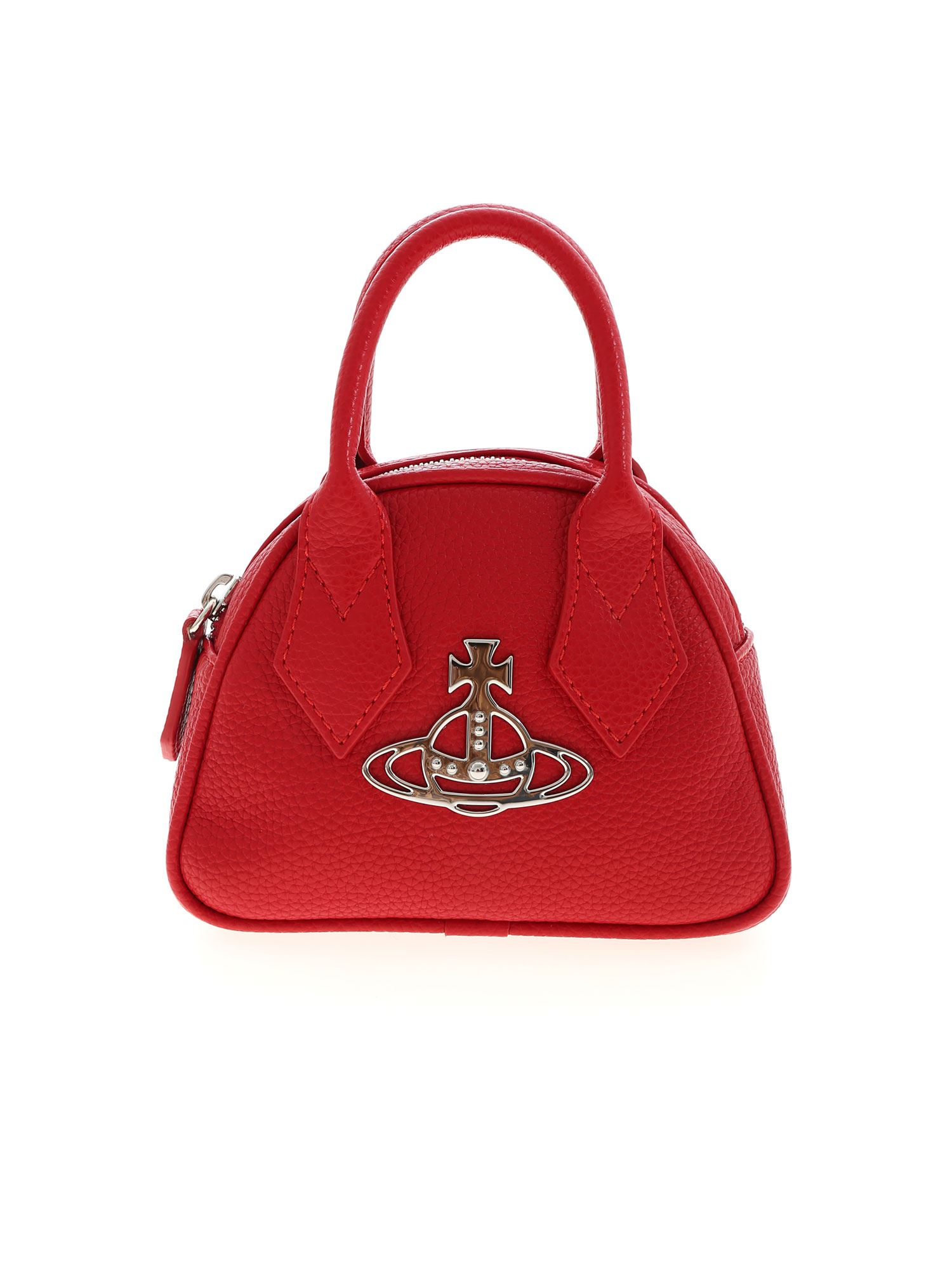 Vivienne Westwood JOHANNA MINI YASMINE BAG IN RED